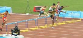 Octavo lugar para Colombia en los 110 metros con vallas