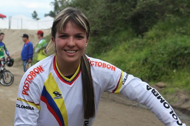 Andrea Escobar atleta colombiana a Juegos Olímpicos