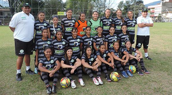 Selección Antioquia Infantil Femenina rumbo a Cartagena