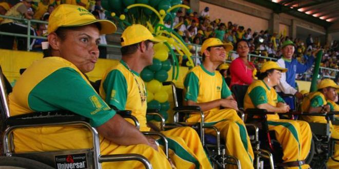 Personas con Discapacidad inauguran sus Juegos Deportivos y Recreativos