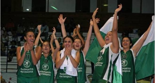 Selección antioqueña de baloncesto