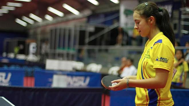 Tenis de mesa colombiano