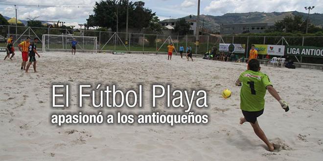 Fútbol Playa en Antioquia