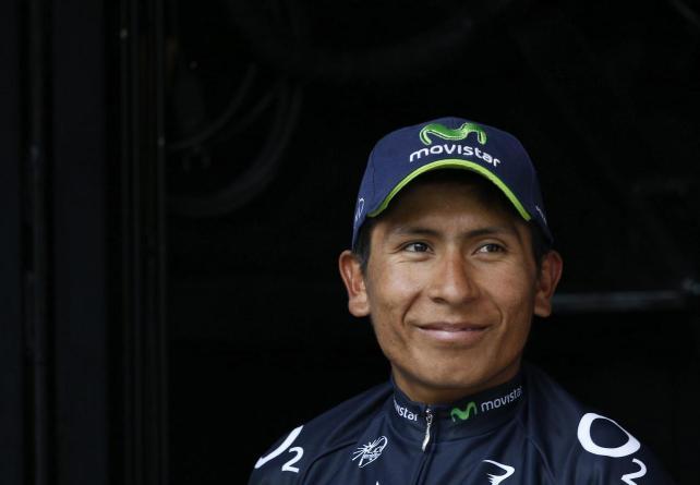 Ciclista colombiano Nairo Quintana
