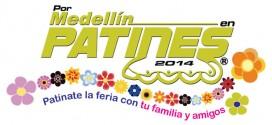 Cientos de deportistas disfrutaron Por Medellín en Patines 2014