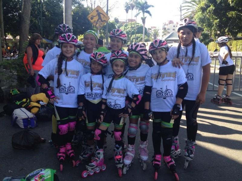 ACORD Antioquia organizó Por Medellín en Patines 2014
