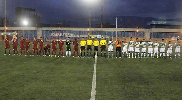 Antioquia empata ante Tolima Semifinal del Torneo Nacional infantil Masculino