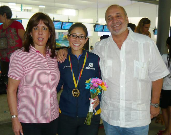 Clara Juliana Guerrero - Bolichera Colombiana - FEDECOBOL