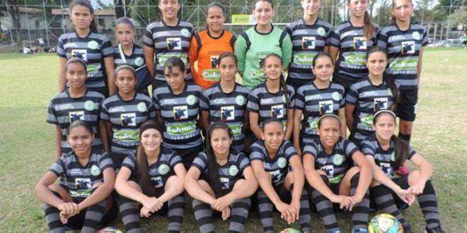 Selección Antioquia Juvenil Femenina en competencia