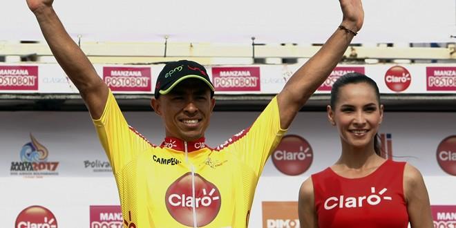 Ecuatoriano Byron Guamá ganó hoy en el Clásico RCN