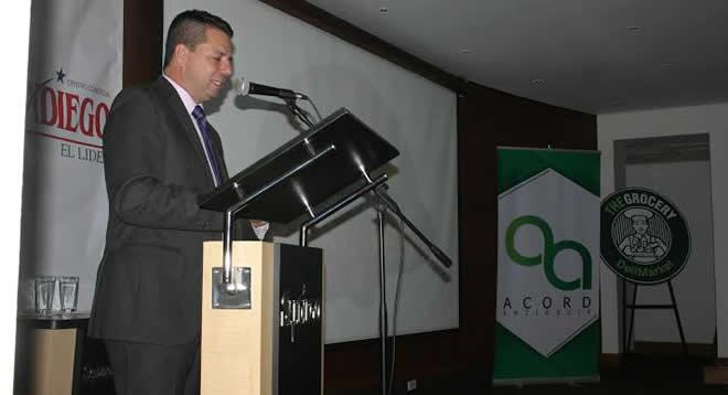 Presidente ACORD en lanzamiento del Torneo de Parqués