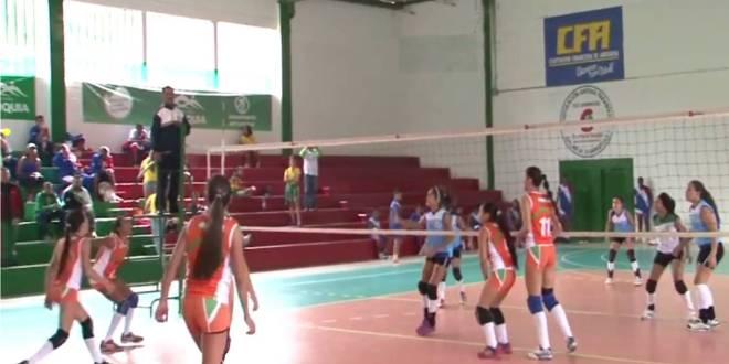 Deportes de conjunto en Intercolegiados Donmatias 2014