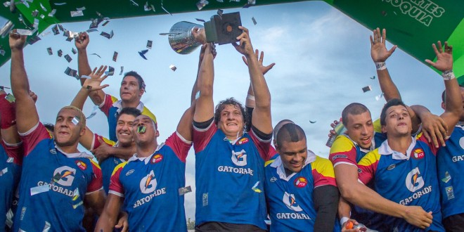 Colombia campeón del Sudamericano de Rugby