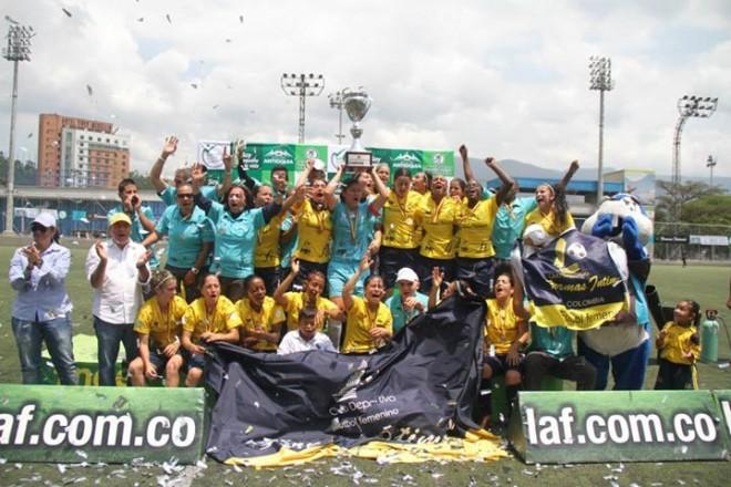 """Copa Pre Libertadores Femenina """"Antioquia la más educada"""""""