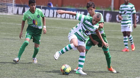 Antioquia gana en la Fase Final del Torneo Nacional Infantil de fútbol