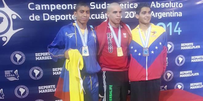 Plata y bronce para Selección Colombia de Natación en los Sudamericanos