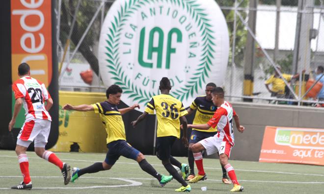 Fútbol aficionado en Medellín Antioquia