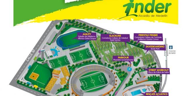 620 deportistas participarán de Adrenalina INDER Urbano