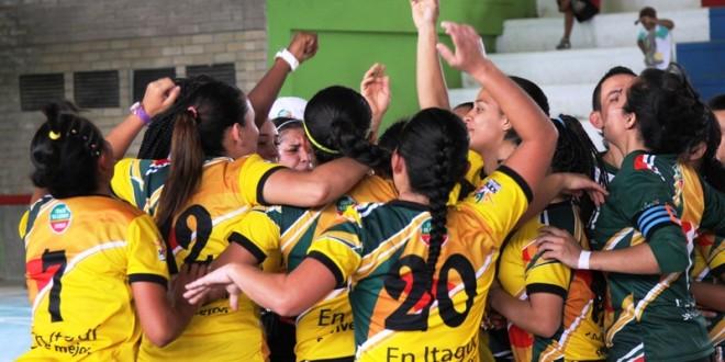 Itagüí, campeón en fútbol de salón femenino y fútbol sala