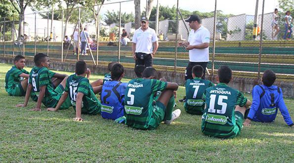 Selección Antioquia Infantil inicia defensa del título