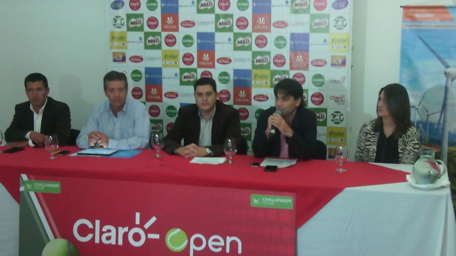 Todo listo para el Claro Open 2015 en Medellín