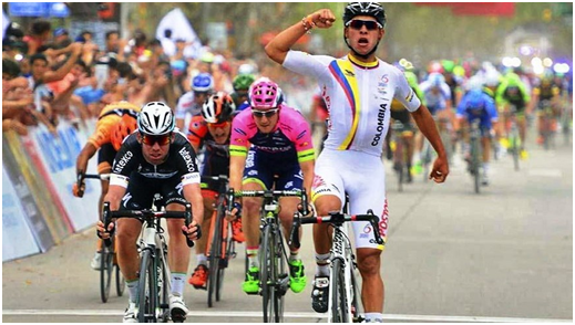 Fernando Gaviria, Ciclista