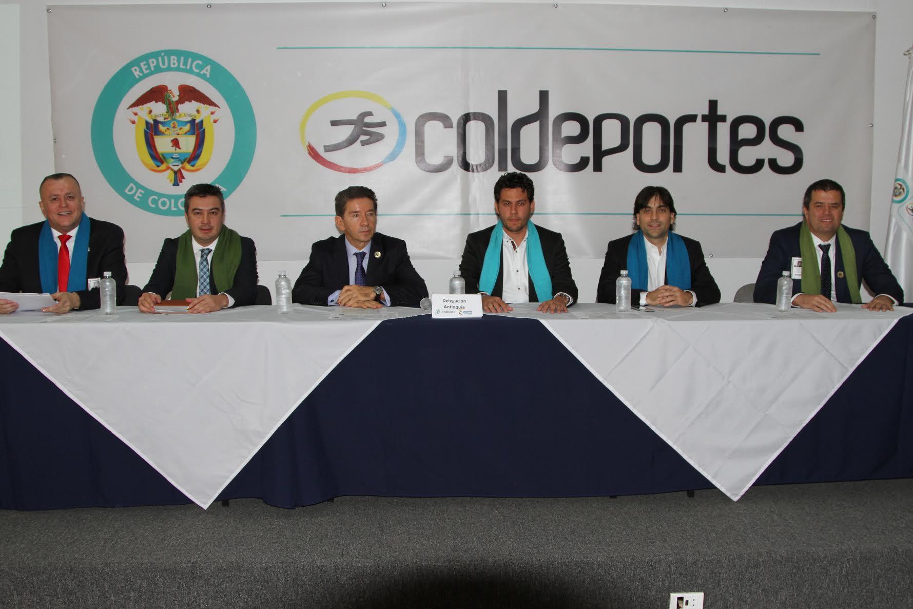 Antioquia quiere los Juegos Nacionales