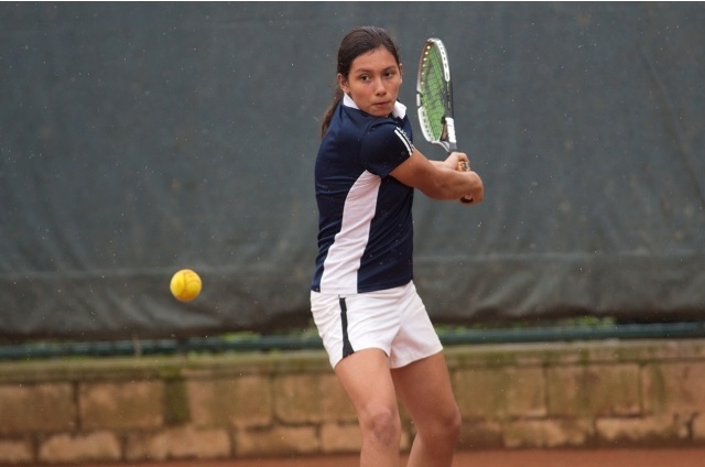 Juliana Castellanos regresó al tenis