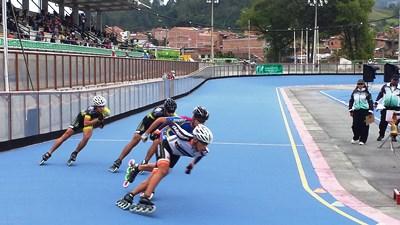 Segunda Copa Antioquia de patinaje de carreras categoría mayores