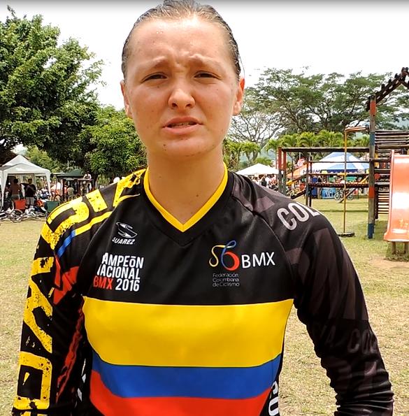 Maria Camila Londoño - BMX