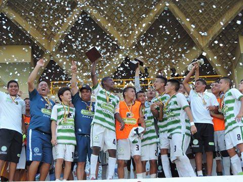 Selección Antioquia Infantil Campeona