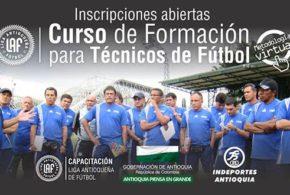 La Liga Antioqueña de Fútbol inicia curso para técnicos