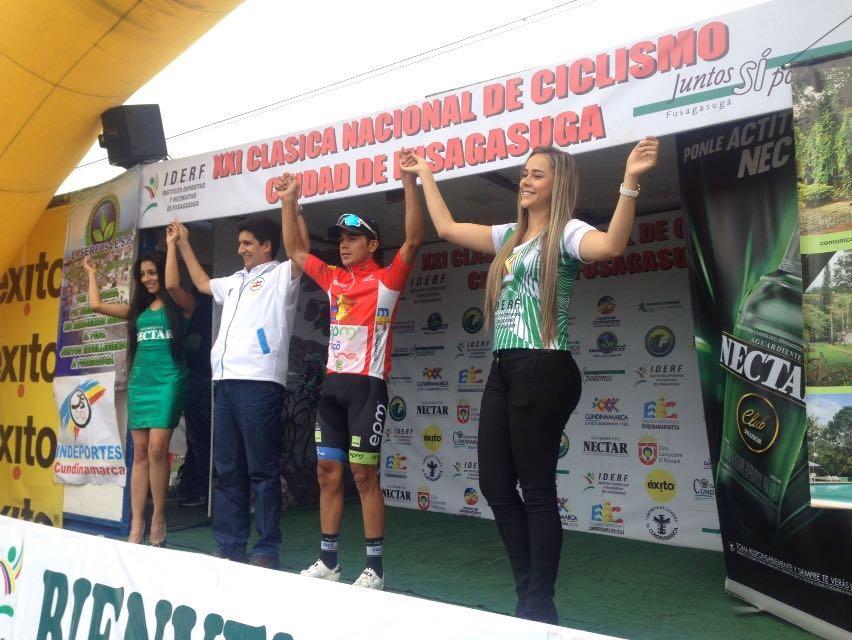 Fabio Duarte Campeón Clásica Fusagasugá
