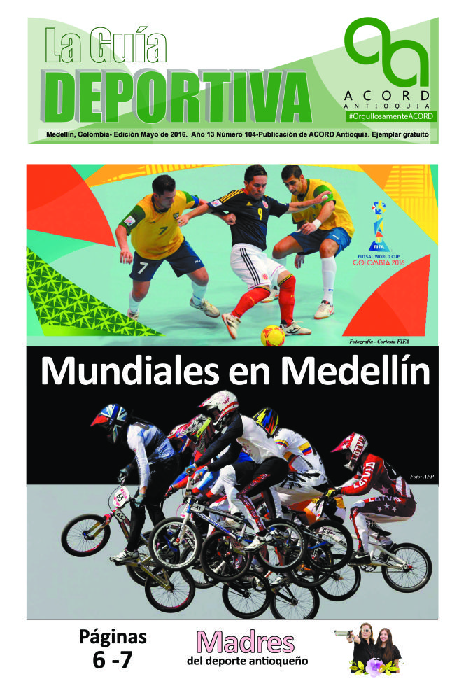 Guía Deportiva - Mayo