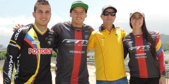 Colombia presente en la Copa Mundo BMX en Holanda