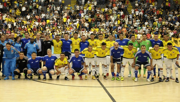 Las Estrellas del Fútsal FIFA iluminaron Medellín