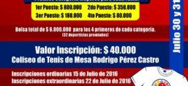 Se realizó el lanzamiento oficial  del II RAQUETÓN FERIA DE LAS FLORES.