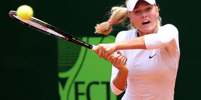 Campeona de Wimbledon Junior debutó con victoria en Cali.