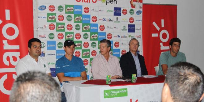 """Toda la pesada del tenis colombiano, presente en el """"Claro Open"""" Medellín 2016."""