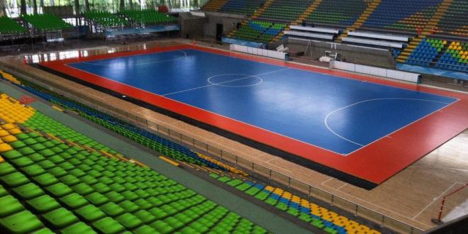 El Coliseo Iván de Bedout se renovó para recibir la Copa Mundial de Fútsal.