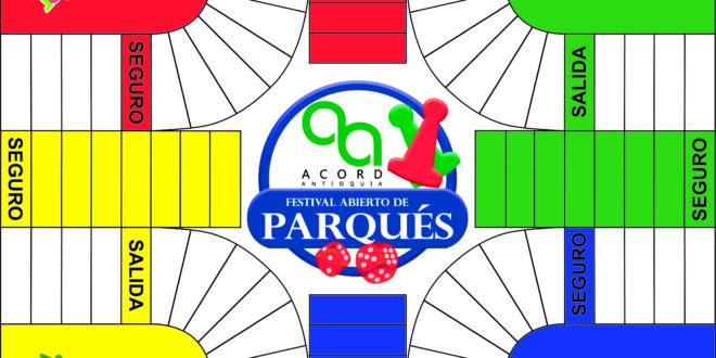REGLAMENTO FESTIVAL DE PARQUÉS  ACORD ANTIOQUIA.