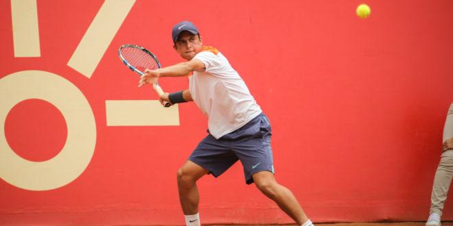 Tenista antioqueño alcanza su mejor ranking mundial.