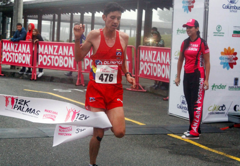 Nicolás Herrera, 12k las palmas Medellín