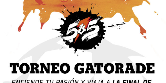 Torneo Gatorade de fútbol 5 – Inscripciones abiertas