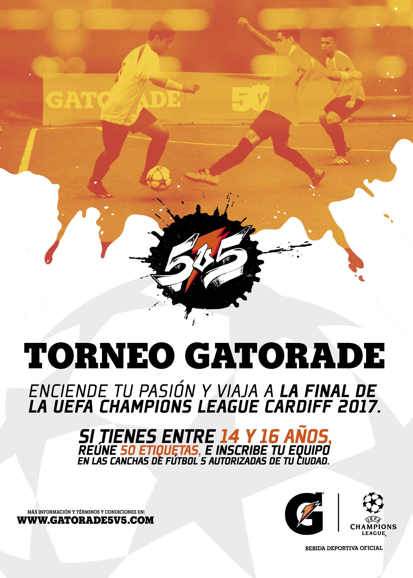 Torneo Gatorade de Fútbol 5