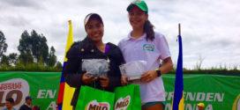 Cuatro títulos para tenistas antioqueños en el Campeonato Nacional Grado Uno de Cundinamarca