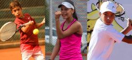 """Tres tenistas antioqueños se ponen la """"tricolor"""""""