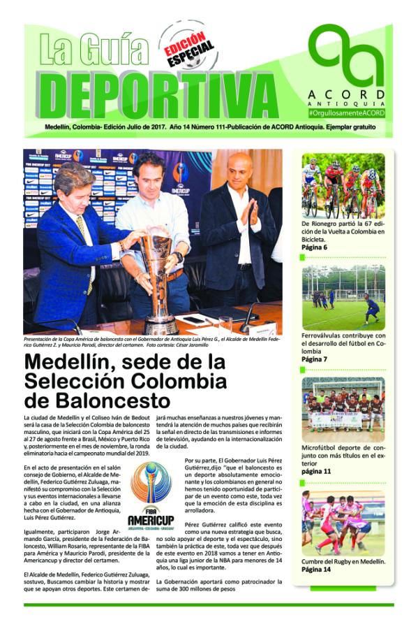 Guía Deportiva - Julio 2017
