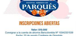 Festival Abierto de Parqués
