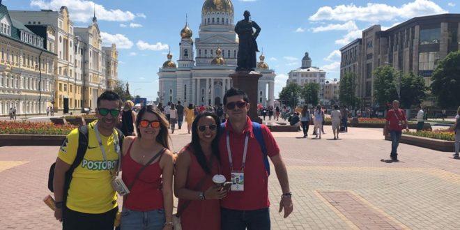 Una aventura en Rusia 2018